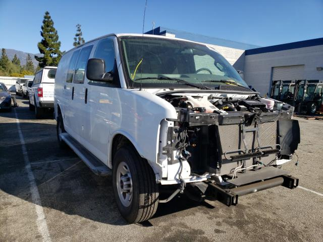 Salvage cars for sale from Copart Rancho Cucamonga, CA: 2019 GMC Savana G25
