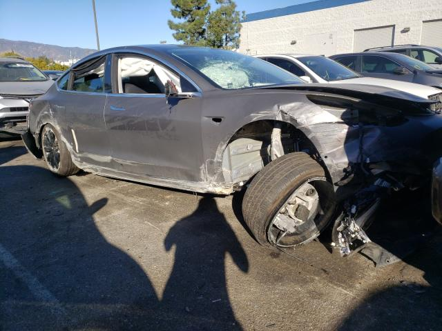 Salvage cars for sale from Copart Rancho Cucamonga, CA: 2019 Tesla Model 3