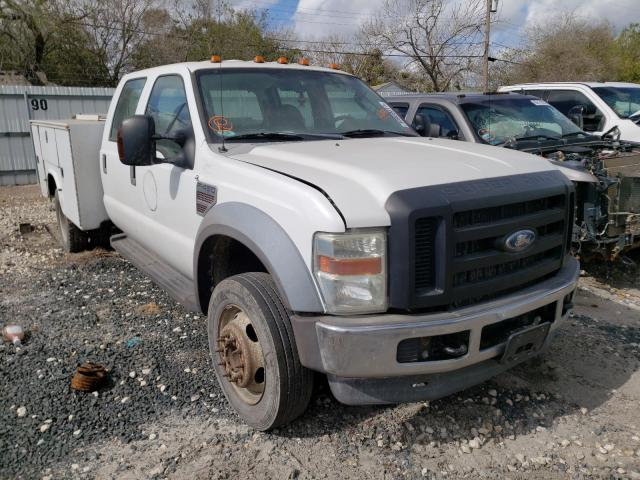 Salvage cars for sale from Copart Corpus Christi, TX: 2008 Ford F450 Super