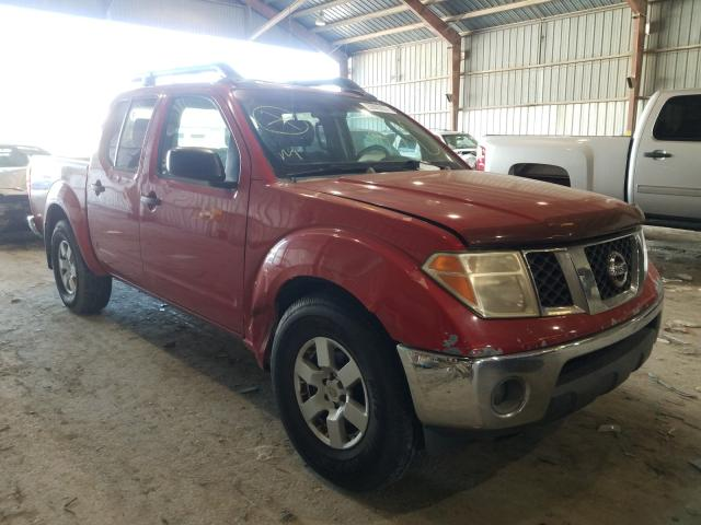 Salvage cars for sale from Copart Greenwell Springs, LA: 2005 Nissan Frontier C