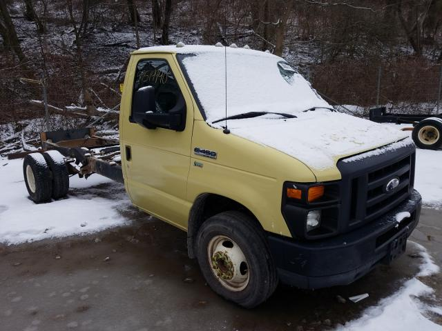 Salvage cars for sale from Copart West Mifflin, PA: 2010 Ford Econoline