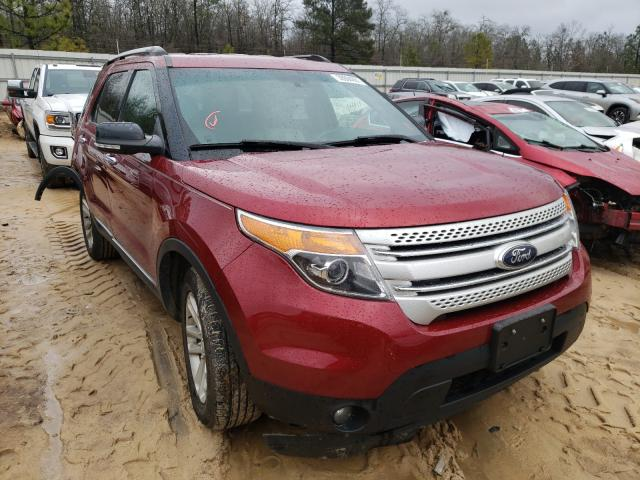 Salvage cars for sale from Copart Gaston, SC: 2015 Ford Explorer X