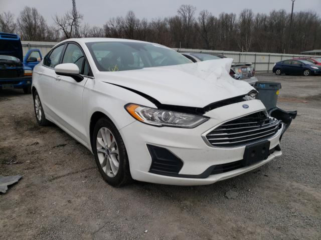 Salvage cars for sale from Copart York Haven, PA: 2020 Ford Fusion SE
