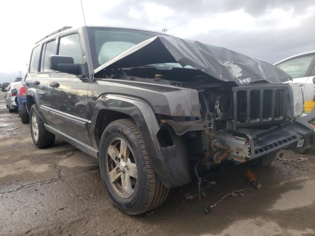 Salvage cars for sale from Copart Woodhaven, MI: 2006 Jeep Commander