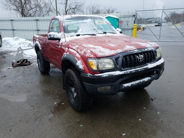 Salvage cars for sale from Copart West Mifflin, PA: 2001 Toyota Tacoma