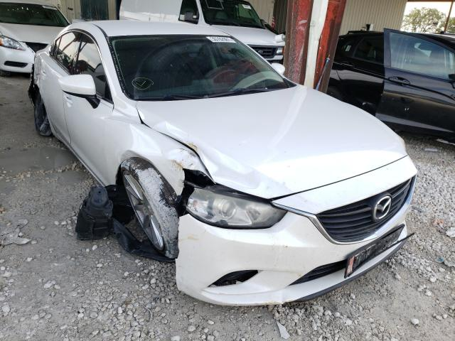 Salvage cars for sale from Copart Homestead, FL: 2016 Mazda 6 Sport