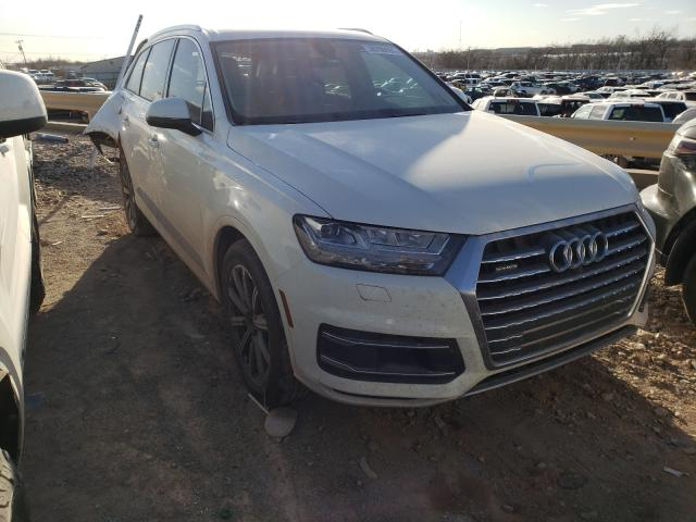Audi Q7 salvage cars for sale: 2018 Audi Q7