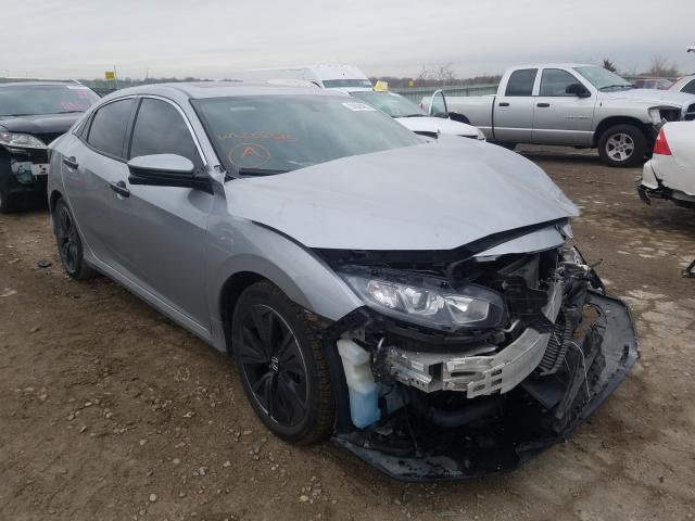 Salvage cars for sale from Copart Kansas City, KS: 2018 Honda Civic EX