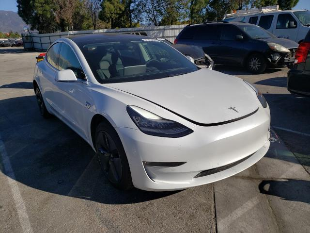 Salvage cars for sale from Copart Rancho Cucamonga, CA: 2018 Tesla Model 3