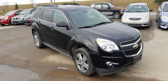 Salvage cars for sale from Copart Courtice, ON: 2014 Chevrolet Equinox LT