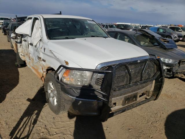 Salvage cars for sale from Copart Amarillo, TX: 2018 Dodge RAM 1500 ST