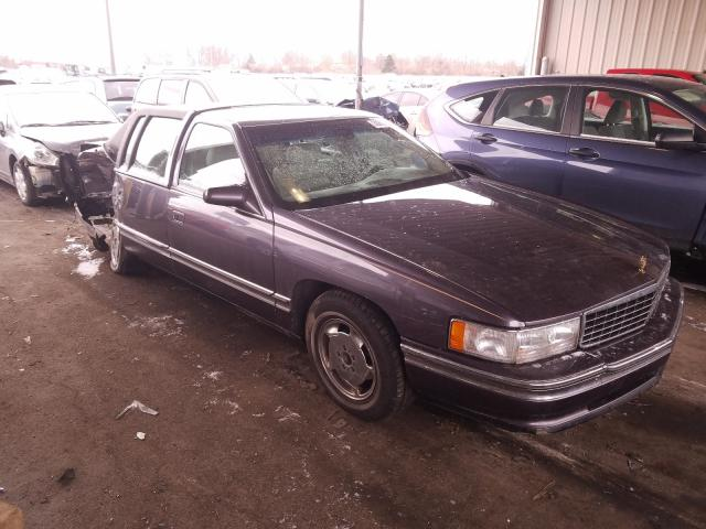 Salvage 1995 CADILLAC DEVILLE - Small image. Lot 30612401