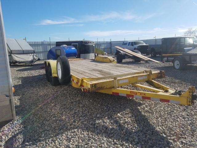Big Tex Trailer salvage cars for sale: 2016 Big Tex Trailer