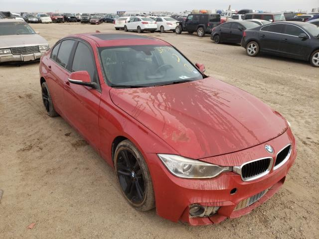 Salvage cars for sale from Copart Amarillo, TX: 2013 BMW 335 XI