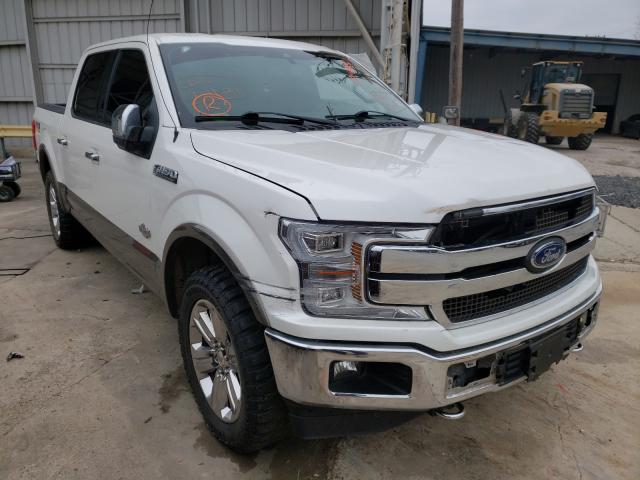 Salvage cars for sale from Copart Corpus Christi, TX: 2018 Ford F150 Super