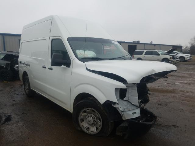 Nissan salvage cars for sale: 2019 Nissan NV 2500 S