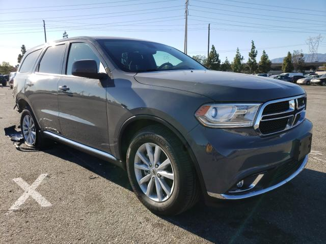 Salvage cars for sale from Copart Rancho Cucamonga, CA: 2020 Dodge Durango SX