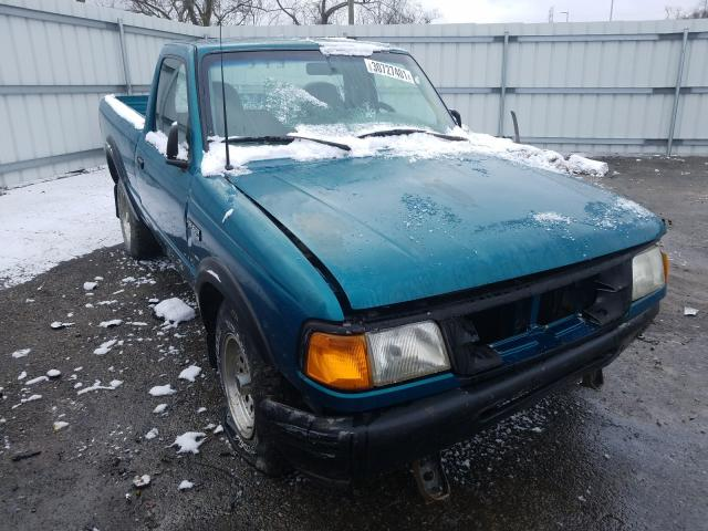 Salvage cars for sale from Copart West Mifflin, PA: 1996 Ford Ranger