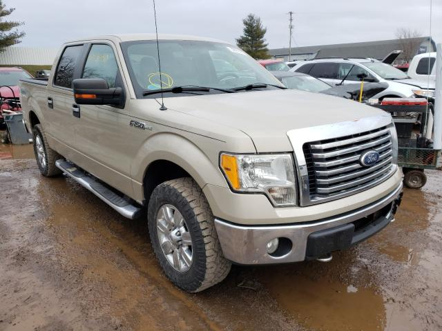 Salvage cars for sale from Copart Davison, MI: 2010 Ford F150 Super