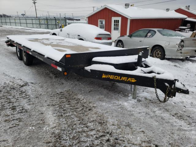 Salvage cars for sale from Copart Ebensburg, PA: 2019 Pequ Trailer