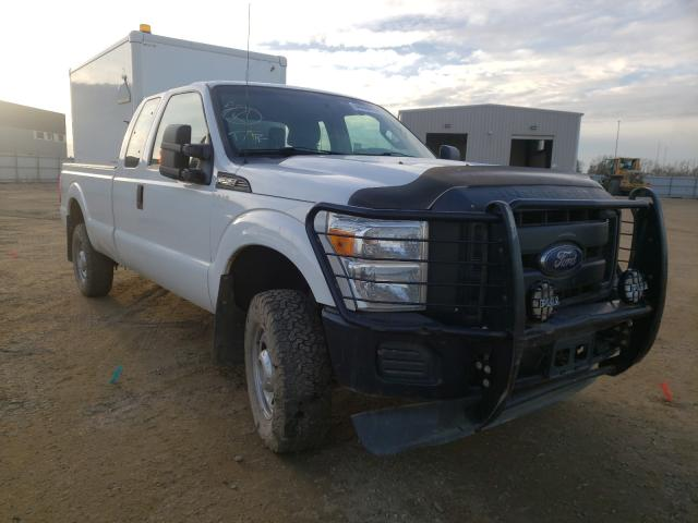 Salvage cars for sale from Copart Nisku, AB: 2015 Ford F250 Super