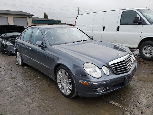 Salvage cars for sale from Copart Eugene, OR: 2007 Mercedes-Benz E350