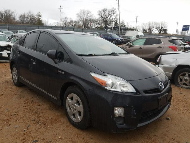 Salvage cars for sale from Copart Bridgeton, MO: 2011 Toyota Prius