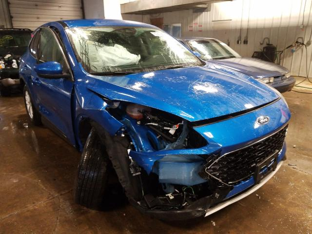 Salvage cars for sale from Copart Cudahy, WI: 2020 Ford Escape SE