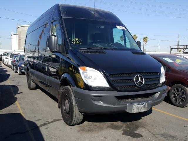 Salvage cars for sale from Copart Wilmington, CA: 2012 Mercedes-Benz Sprinter 2