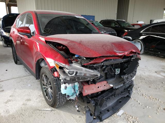 Salvage cars for sale from Copart Homestead, FL: 2020 Mazda CX-5 Sport