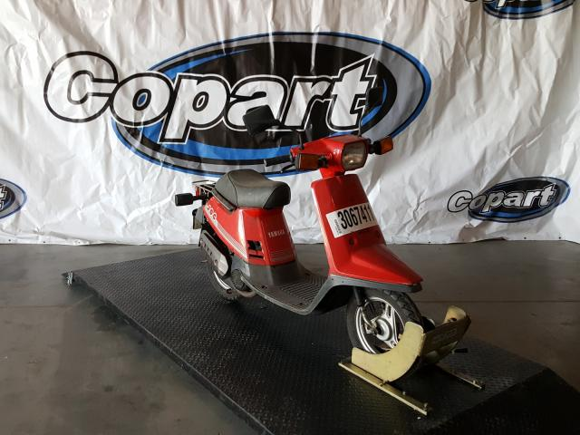 Salvage cars for sale from Copart San Diego, CA: 1986 Yamaha CE50