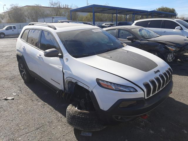 Jeep salvage cars for sale: 2017 Jeep Cherokee T
