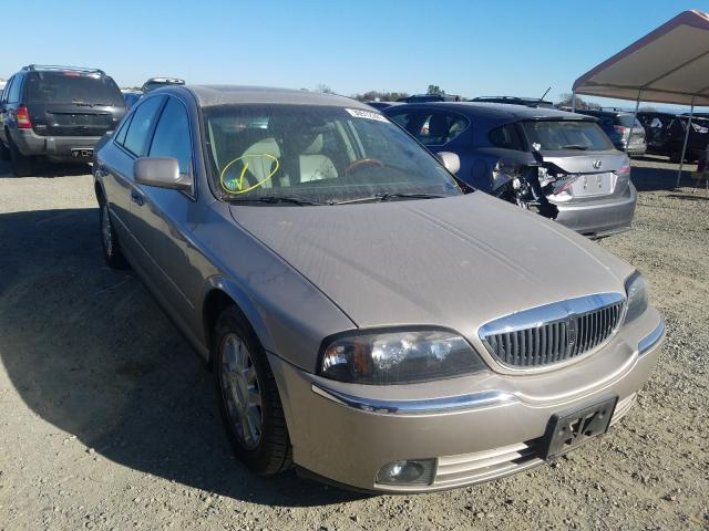 Salvage cars for sale from Copart Antelope, CA: 2003 Lincoln LS
