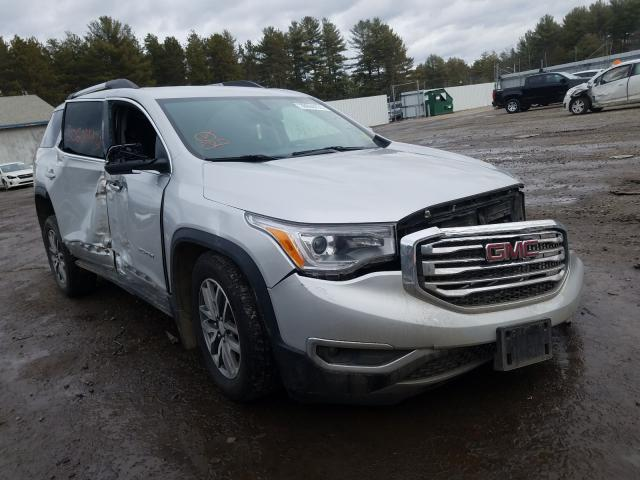 Salvage cars for sale from Copart Lyman, ME: 2017 GMC Acadia SLE