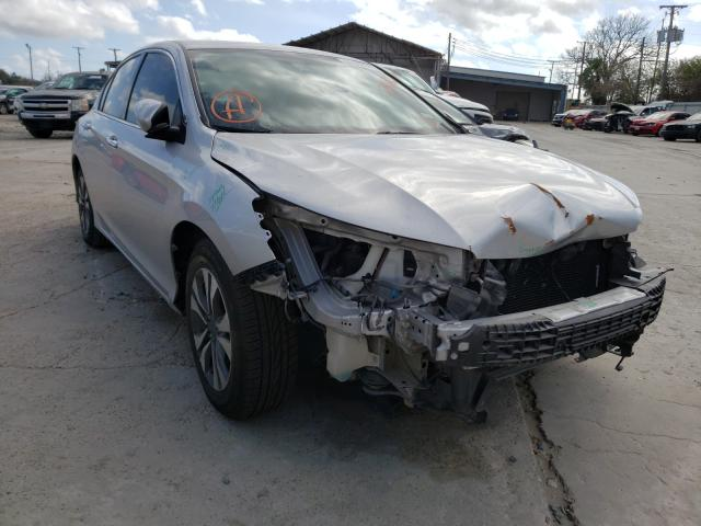 Salvage cars for sale from Copart Corpus Christi, TX: 2015 Honda Accord LX