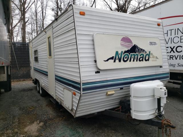 Nomad salvage cars for sale: 2001 Nomad Trailer