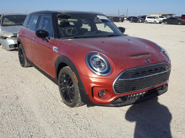 Salvage cars for sale from Copart San Antonio, TX: 2021 Mini Cooper S C