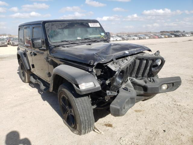 Salvage cars for sale from Copart Temple, TX: 2020 Jeep Wrangler U