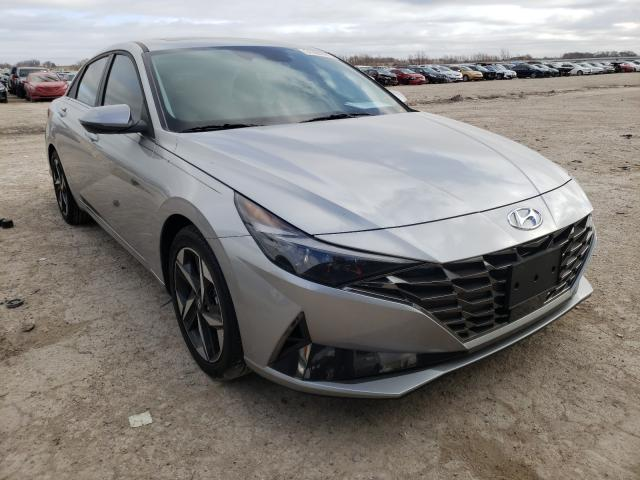 Salvage cars for sale from Copart Temple, TX: 2021 Hyundai Elantra LI