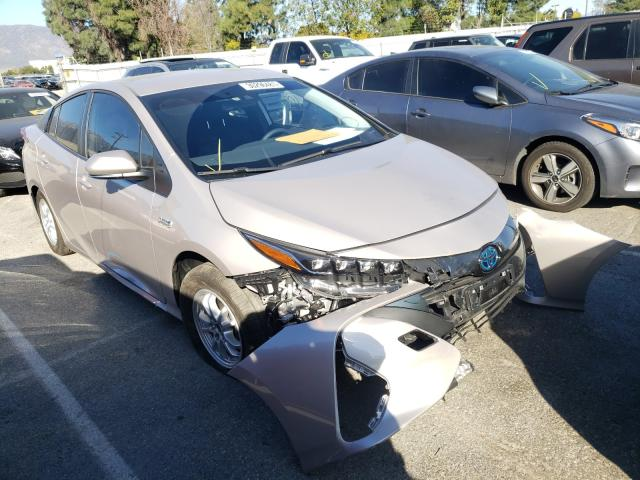 Salvage cars for sale from Copart Rancho Cucamonga, CA: 2021 Toyota Prius Prim