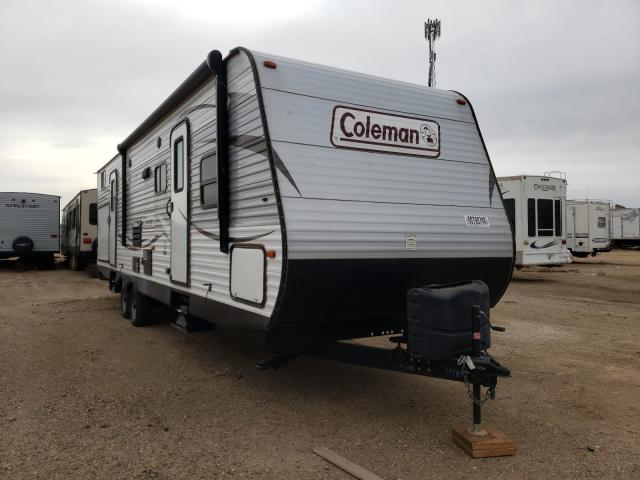Coleman salvage cars for sale: 2017 Coleman Travel Trailer