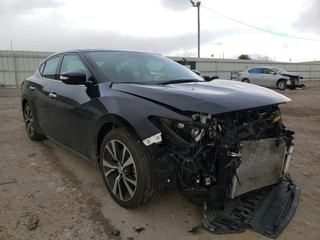 Salvage cars for sale from Copart Lexington, KY: 2018 Nissan Maxima 3.5