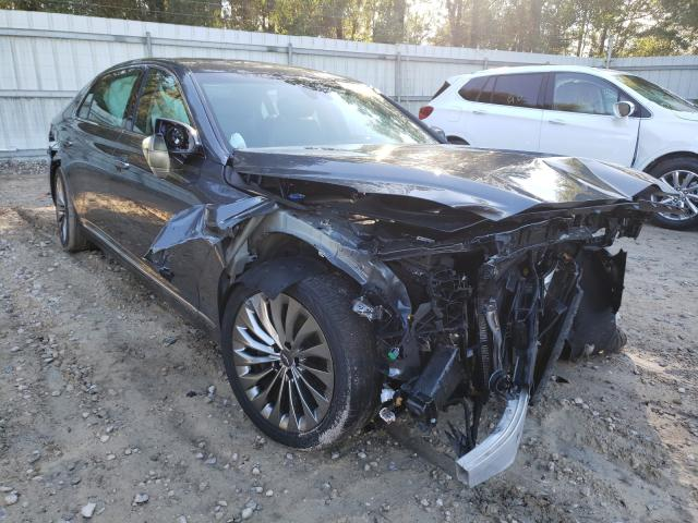 Salvage cars for sale from Copart Midway, FL: 2017 Genesis G90 Ultima