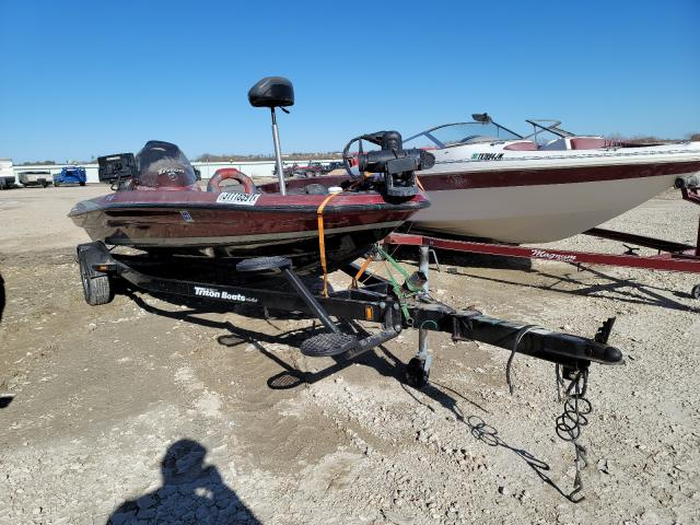 Triton salvage cars for sale: 2010 Triton Boat