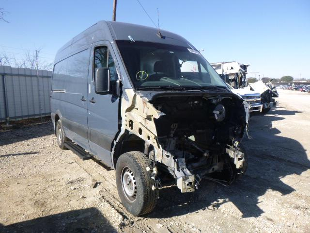 Salvage cars for sale from Copart Temple, TX: 2018 Mercedes-Benz Sprinter 2