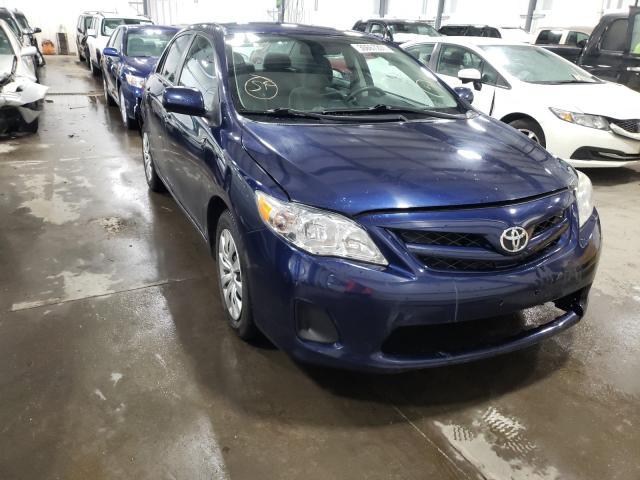 Salvage cars for sale from Copart Ham Lake, MN: 2012 Toyota Corolla BA