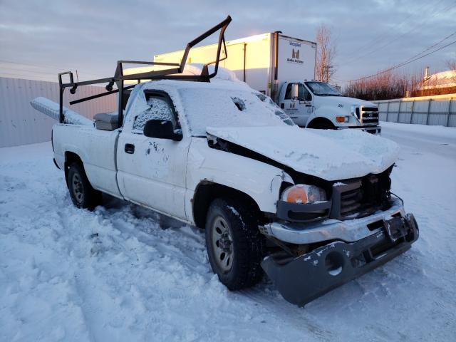 Salvage cars for sale from Copart Anchorage, AK: 2007 GMC New Sierra