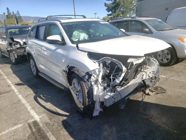 Salvage cars for sale from Copart Rancho Cucamonga, CA: 2016 Toyota Highlander