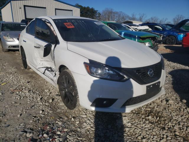 Salvage cars for sale from Copart Ellenwood, GA: 2018 Nissan Sentra S