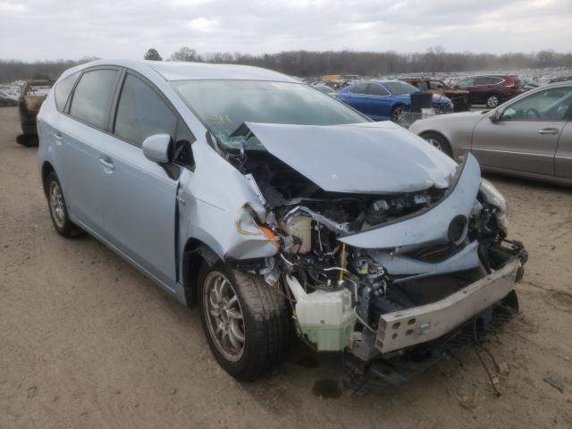 Salvage cars for sale at Conway, AR auction: 2015 Toyota Prius V